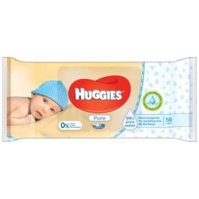 Huggies Pure, vådserviette 56 stk.