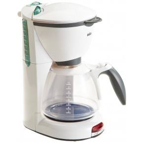 Klein Braun Kaffemaskine - Hvid