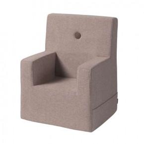 By KlipKlap Kids Chair XL - Soft Rose m. Soft Rose knap