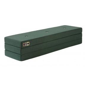 BY KLIPKLAP 3 fold XL Deep green madras
