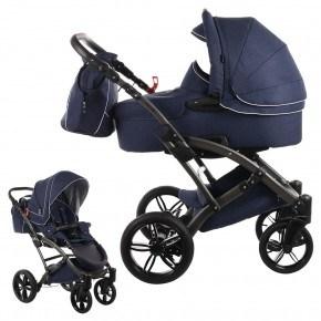 Knorr-Baby Voletto Emotion - Mørkeblå Kombivogn