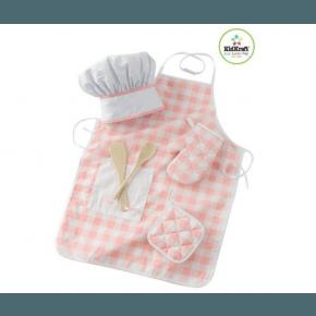 Kidkraft kokke sæt - Pink/Hvid