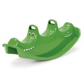 Dantoy vippegynge Krokodille - grøn