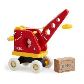 BRIO Løfte- og læssekran Legetøj