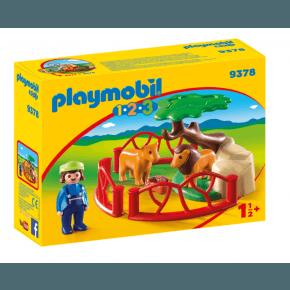 Playmobil Lion Enclosure