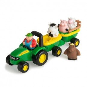 John Deere - Animal Sounds Hayride Traktor