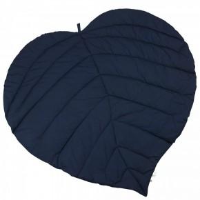 MÜSLI - Leaf Blanket Navy Babytæppe