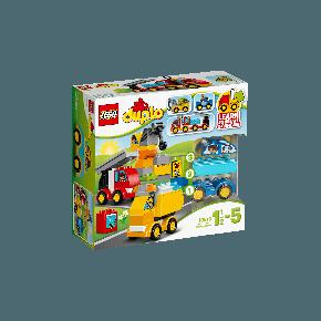 LEGO DUPLO - Mine Første Biler og Lastbiler - 10816