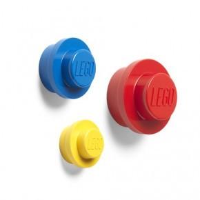 LEGO Knagesæt 3 STK - Rød, Blå, Gul