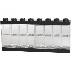 LEGO Minifigure Display Case - 16 Figurer - Sort
