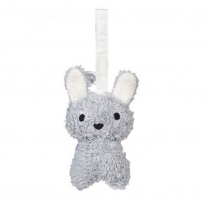 Franck & Fischer Louise kanin hængerangle - grå