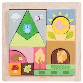 Le Toy Van Byggeklodser - Skov og dyr