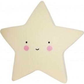 A Little Lovely Company Mini Star Light - Gul