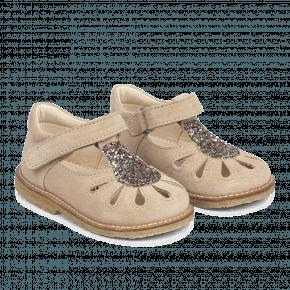Angulus begynder sandal m. glitter - Blush Glitter