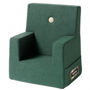 By Klip Klap Kids Chair - Deep Green