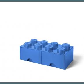 LEGO Brick 8 Opbevaringsskuffe - Lyseblå