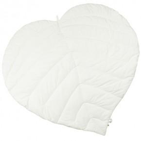 MÜSLI - Leaf Blanket Ecru (Creme) Babytæppe