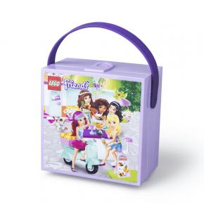 Lego Friends Madkasse med hank - Lavendel