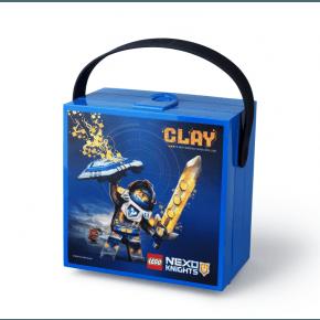 Lego Nexo Knights Madkasse med hank - Blå