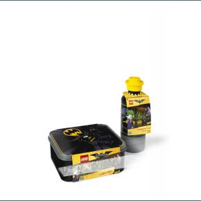 Lego sæt m. madkasse og drikkedunk Batman - Sort