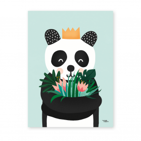 Michelle Carlslund plakat 30x40 - Panda