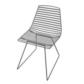 SEBRA Me-Sit Large metalstol, Mørk grå