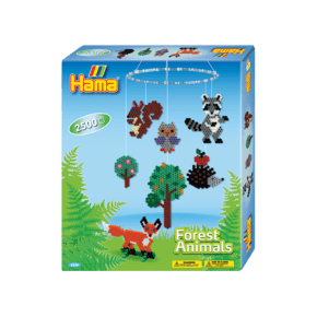 Hama Midi Gaveæske - Forest Animals