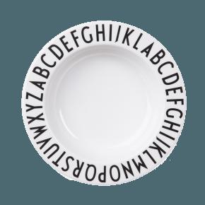 Design Letters AJ Melamine - Dyb tallerken