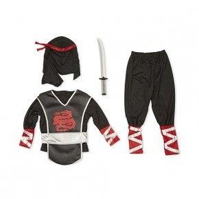 Melissa & Doug Udklædning Ninja - Sort