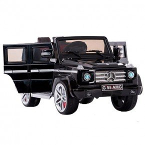 Ride Ons Mercedes SUV G55 - Black - Med fjernbetjening.