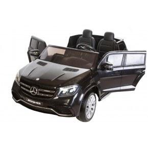 Ride Ons Mercedes GLS 63 - Sort - Med fjernbetjening