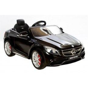 Ride Ons Mercedes S63 - Black - Med fjernbetjening.