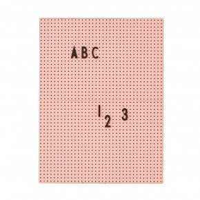 DESIGNLETTERS Message Board A4 - Pink