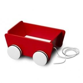Micki trækvogn - Rød