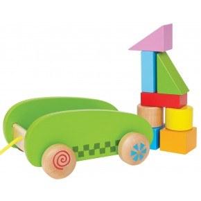 HAPE Mini Block & Roll Træklodser