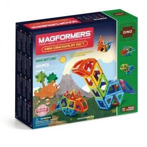 Magformers Mini Dinosaur sæt