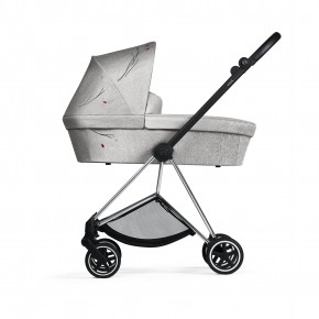 Cybes Mios Carrycot - Koi, Mid Grey