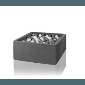 MISIOO Boldbassin firkantet 110x110x40 - Light Grey