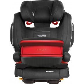 Recaro Monza Nova IS Seatfix Autostol - Sort (Til isofix og/eller sele montering)