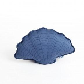 Manostiles Musling pude - Oyster blue