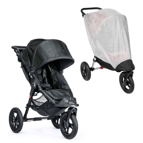 Baby Jogger City Elite Single Titanium + Insektnet