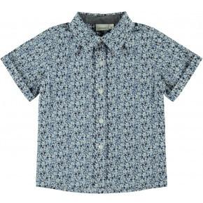 Name It kortærmet skjorte - Dark Sapphire