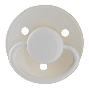 Mininor Rund Narresut Latex 0m+ 2-pak- Selvlysende natsut