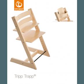 Tripp Trapp Højstol + Babysæt - Natural
