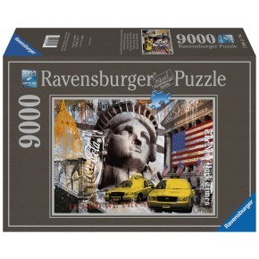 Ravensburger -  New York-Collage (9000 pcs) Puslespil