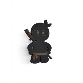 Ninja knage (sort) - Maseliving