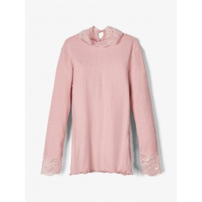 Name It slim fit langærmet blonde top - Zephyr