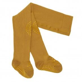 GoBabyGo strømpebukser - mustard