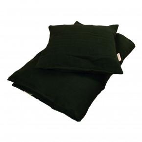 Filibabba babysengetøj muslin 70x100 cm - dark green