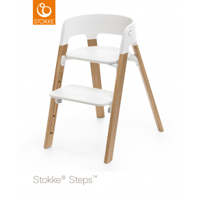 Stokke Steps Højstol - Natural (oak)